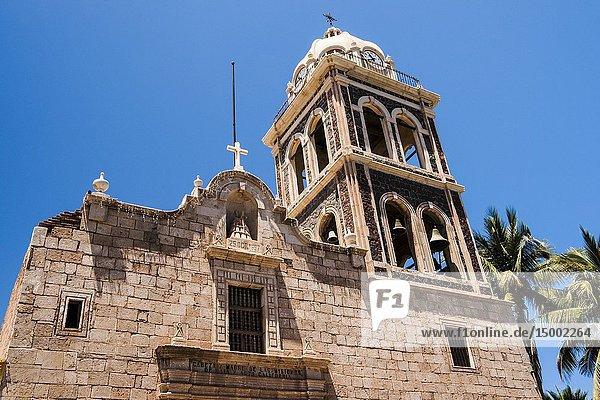 Mission of Nuestra Señora de Loreto Conchó (Mission of Our Lady of Loreto). UNESCO World Heritage Site. Loreto  Baja California Sur  Mexico.