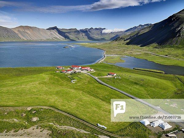 Landscape  Grundarfjordur  Iceland.