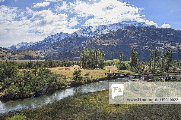 Casa Piedra (Stone House) campsite in beautiful Patagonia National Park  Aysen  Patagonia  Chile.