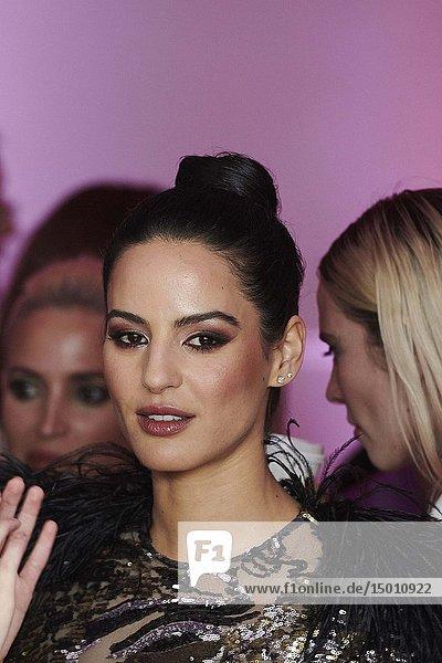 Jana Perez attends Elle magazine and Tous Party at Palacio Santa Barbara on April 3  2019 in Madrid  Spain