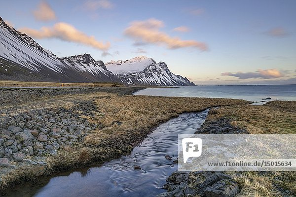 Stokksnes  Hornafjordur  Hofn  South Iceland  Iceland  Europe.