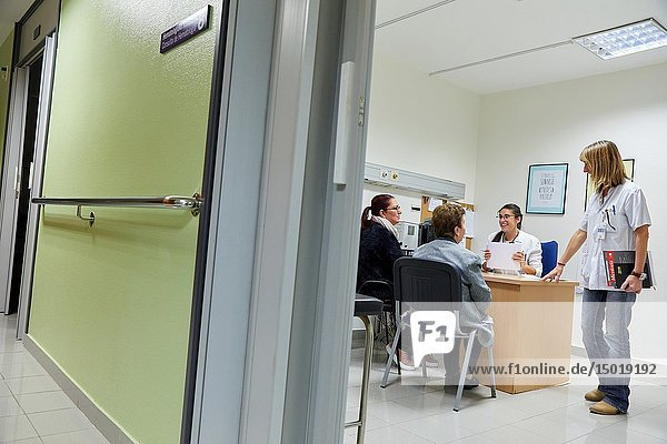 Medical consultation  Hematology  Hospital Donostia  San Sebastian  Gipuzkoa  Basque Country  Spain