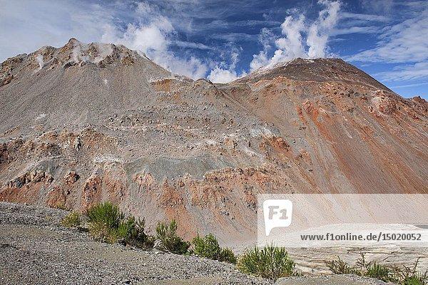Chaitén volcano  Pumalin National Park  Patagonia  Chaitén  Chile.