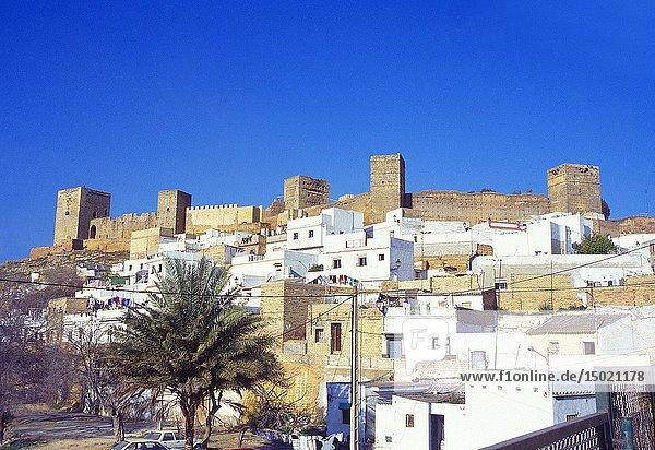 Castle. Alcala de Guadaira  Sevilla province  Andalucia  Spain.