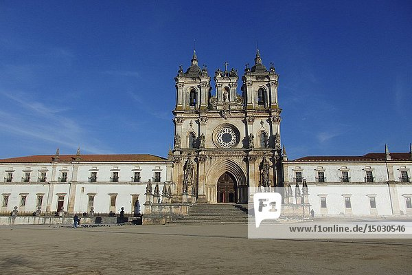 PORTUGAL Alcobaça -- The famous Cistercian monastery of Santa Maria in Alcobaça  Portugal -- Picture by Jonathan Mitchell/Atlas Photo Archive.