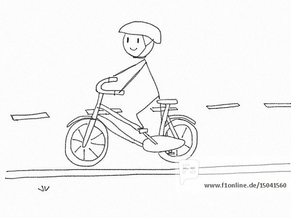 Lost My Head  Bicyclist and Mattress Animation