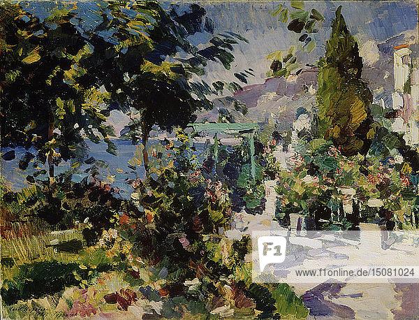 Gurzuf  1917. Artist: Korovin  Konstantin Alexeyevich (1861-1939)
