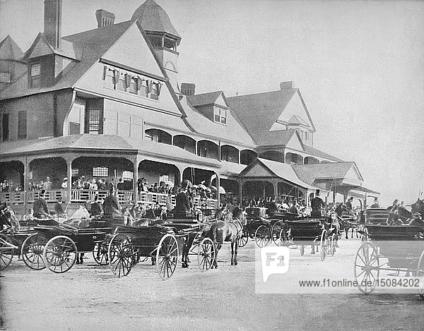 'Washington Park Club. Chicago  Ill.'  c1897. Creator: Unknown.