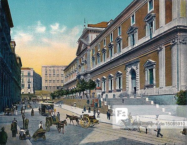 'Napoli - Museo Nazionale'  c1900. Creator: Unknown.