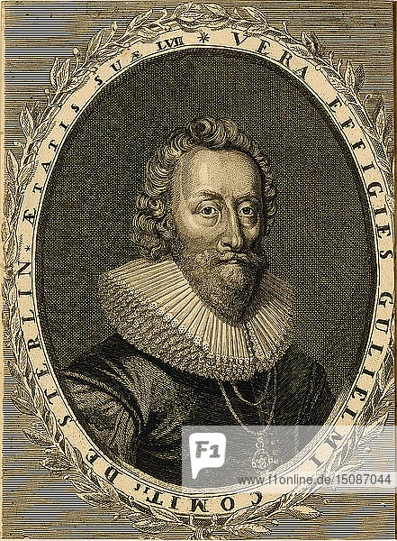 Sir William Alexander,  1st Earl of Stirling,  1624. Creator: Anonymous.