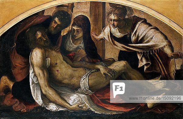 Pietà  1563. Creator: Tintoretto  Jacopo (1518-1594).