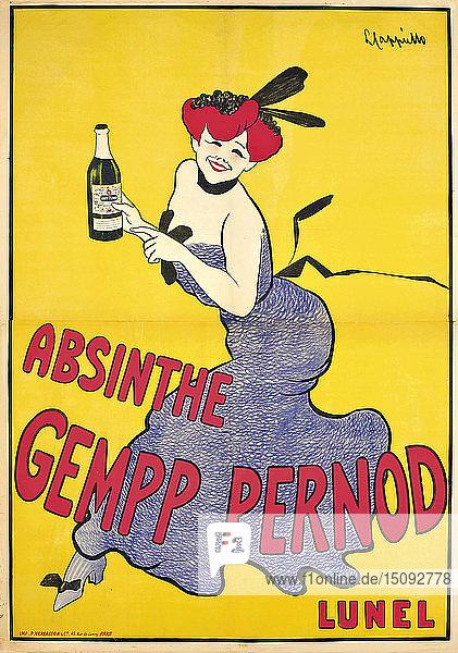 Absinthe Gempp Pernod  c1910.