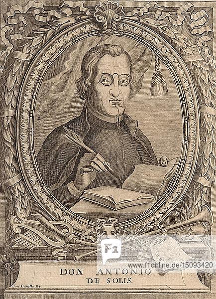 Antonio de Solís y Ribadeneyra (1610-1686). Creator: Anonymous.