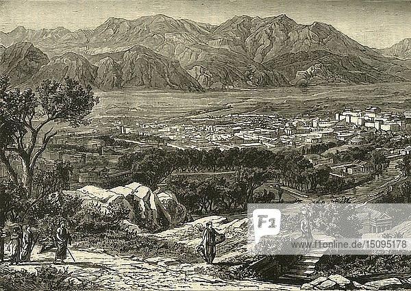 'General View of Sparta  Restored'  1890. Creator: Unknown.