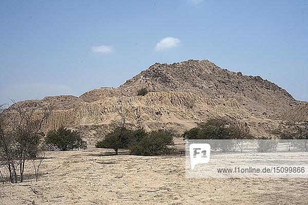 Valle de las Piramides  Tucume  Lambayeque  Peru  2015. Creator: Luis Rosendo.