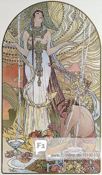 'Salambo'  1897. Artist: Alphonse Mucha