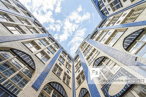 Germany  Berlin  facades of Hackesche Hoefe