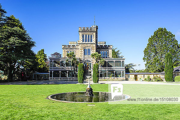 Larnach castle  Otago peninsula  South Island  New Zealand