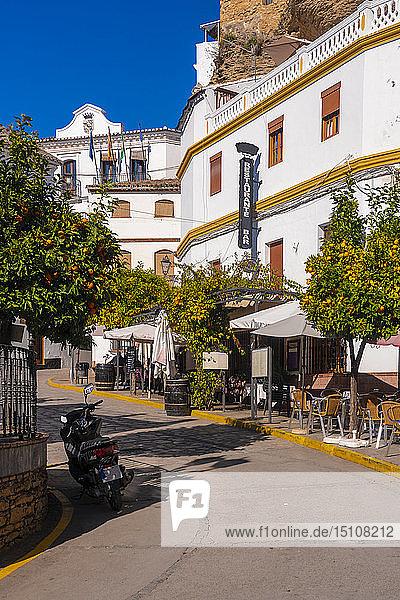 Spain  Andalusia  Province of Cadiz  Setenil de las Bodegas