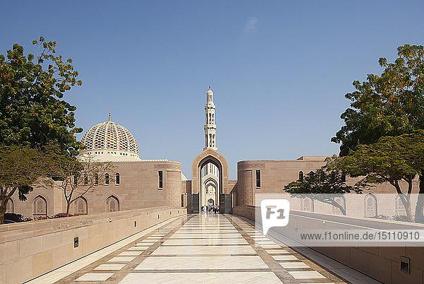 Große Moschee von Sultan Qaboos  Muskat  Oman