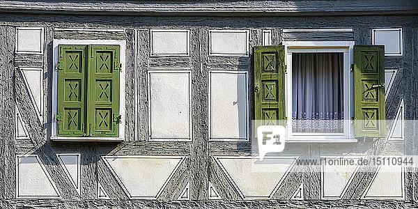 Fachwerkhaus in der historischen Altstadt  Waiblingen  Deutschland