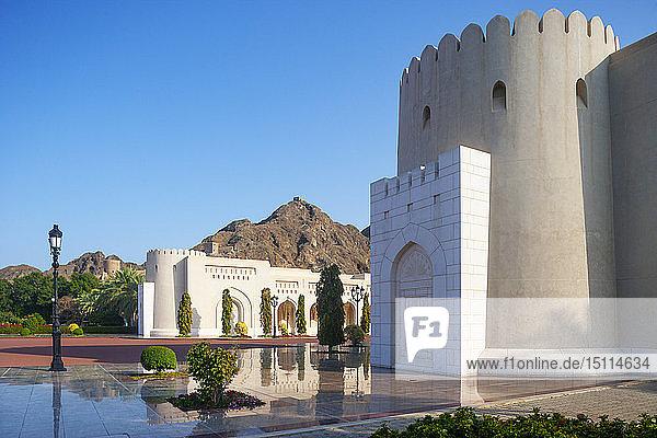 Al Alam Palace  Regierungsviertel  Muscat  Oman