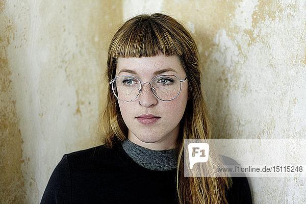 Porträt einer Studentin