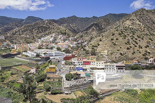 Vallehermoso  La Gomera  Kanarische Inseln  Spanien