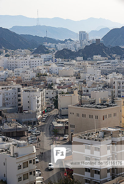 Stadtbild  Matrah  Muskat  Oman