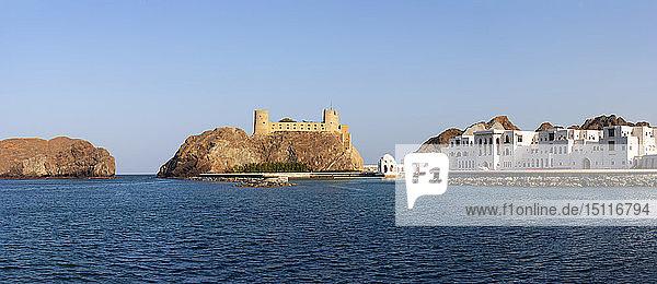 Fort Jalali  Sultanspalast  Regierungsviertel  Muscat  Oman