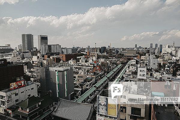 Japan  Tokio  Asakusa  Stadtbild