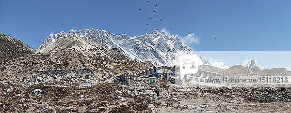 Nepal  Solo Khumbu  Everest  Chukkung Lodge Village