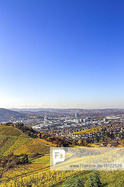 View over Stuttgart  Germany