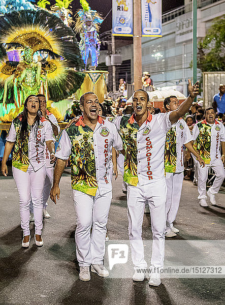 Carnival Parade in Rio de Janeiro  Brazil  South America
