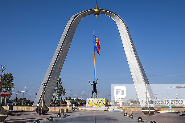 Monument of Independence  Place de la Nation  N'Djamena  Chad  Africa