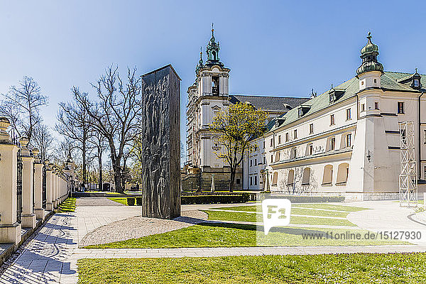 Skalka Church and the Pauline Monastery  Krakow  Poland  Europe