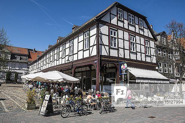 Goslar  UNESCO World Heritage Site  Lower Saxony  Germany  Europe