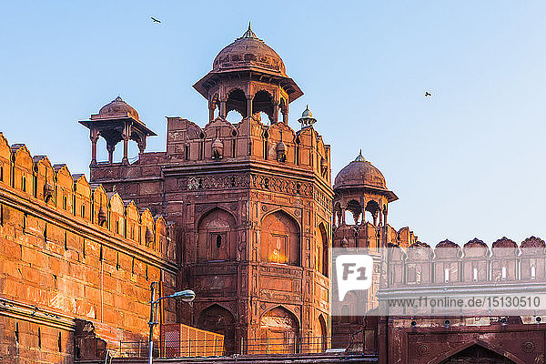 Red Fort  UNESCO World Heritage Site  Old Delhi  India  Asia