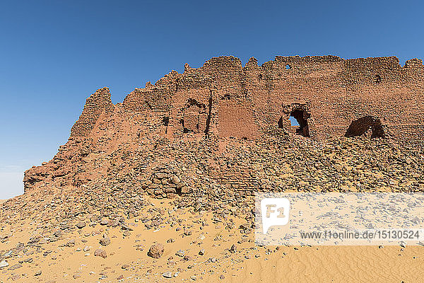 Old ksar  old town in the desert  near Timimoun  western Algeria  North Africa  Africa