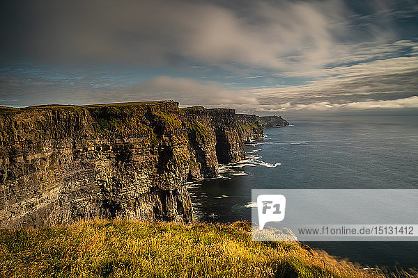 Cliffs of Moher  County Clare  Munster  Republic of Ireland  Europe