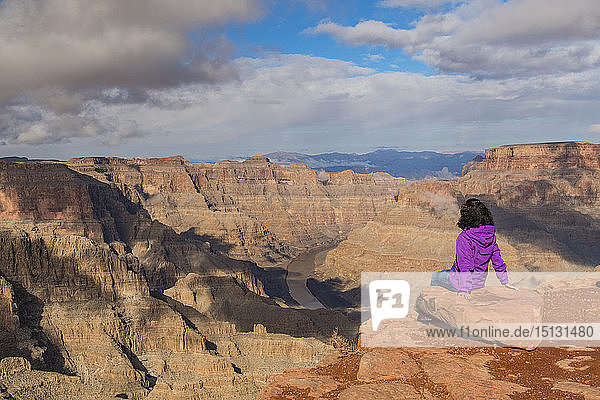 West Rim  Grand Canyon and Colorado River  UNESCO World Heritage Site  Arizona  United States of America  North America