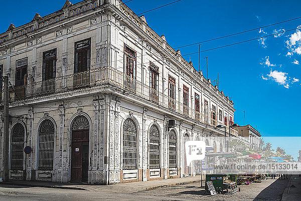 Cienfuegos  UNESCO World Heritage Site  Cuba  West Indies  Caribbean  Central America