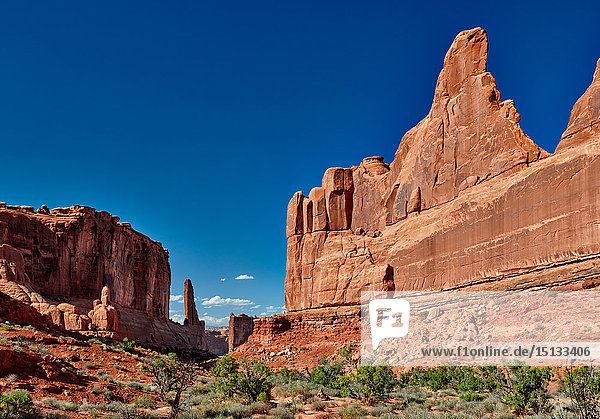 Park Avenue  Arches-Nationalpark  Utah  USA