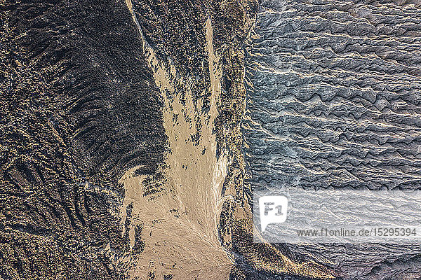 Vulkankrater und Textur der Insel San Benedicto  Punta Baja  Baja Kalifornien  Mexiko
