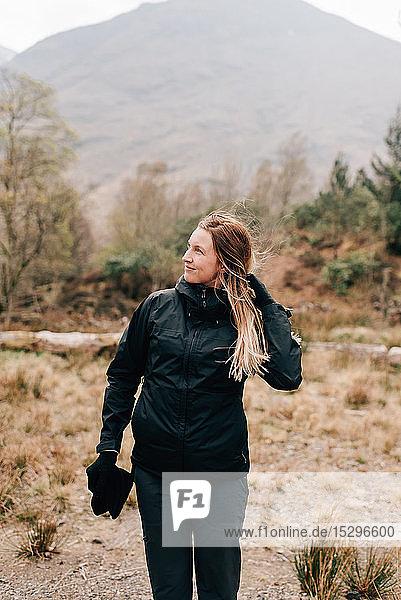 Wandern im Trossachs-Nationalpark  Kanada