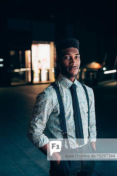 Porträt eines jungen Geschäftsmannes