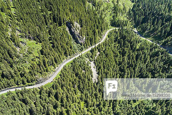 Schweiz  Kanton Uri  Luftaufnahme des Sustenpasses
