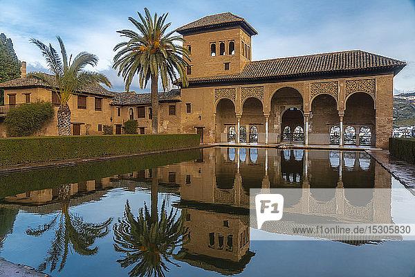 El Partal  Alhambra  Granada  Spain