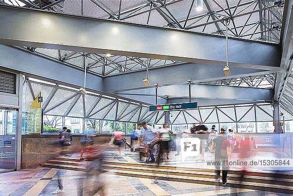 MRT Entrance  Singapore