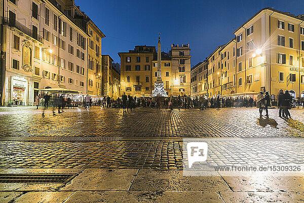 Fontana del Pantheon  Rom  Italien